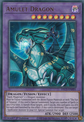 Amulet Dragon - DLCS-EN005 - Ultra Rare - 1st Edition