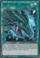 The Eye of Timaeus - DLCS-EN007 - Blue Ultra Rare - 1st Edition