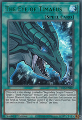 The Eye of Timaeus - DLCS-EN007 - Green Ultra Rare - 1st Edition