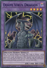 Doom Virus Dragon - DLCS-EN055 - Blue Ultra Rare - 1st Edition