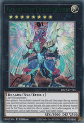 Galaxy-Eyes Cipher Dragon - DLCS-EN125 - Green Ultra Rare - 1st Edition