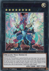 Galaxy-Eyes Cipher Dragon - DLCS-EN125 - Purple Ultra Rare - 1st Edition
