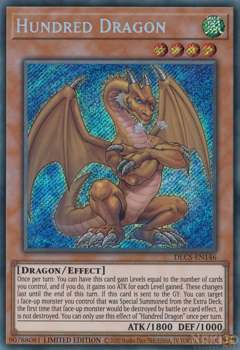 Hundred Dragon - DLCS-EN146 - Secret Rare - 1st Edition