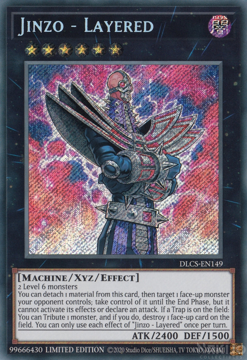 Jinzo - Layered - DLCS-EN149 - Secret Rare - 1st Edition
