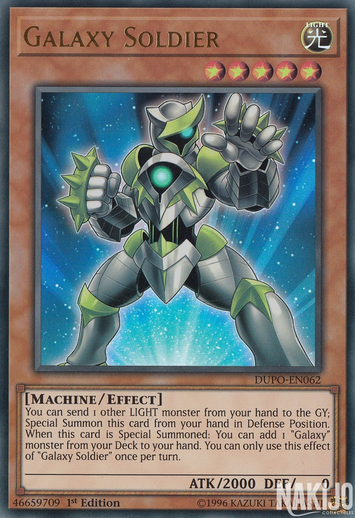 Galaxy Soldier - DUPO-EN062 - Ultra Rare - 1st Edition