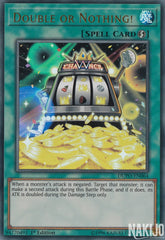 Double or Nothing! - DUPO-EN064 - Ultra Rare - 1st Edition