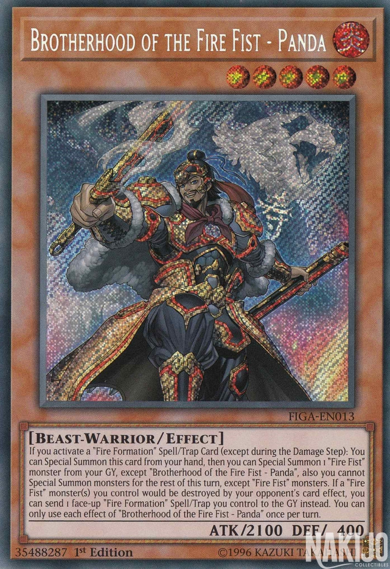 Brotherhood of the Fire Fist - Panda - FIGA-EN013 - Secret Rare - 1st Edition