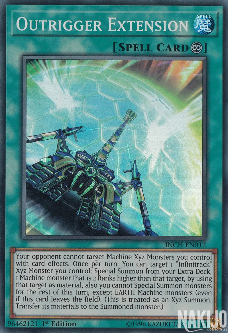 Outrigger Extension - INCH-EN012 - Super Rare - 1st Edition