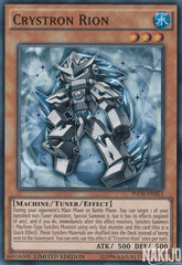 Crystron Rion - INOV-ENSE3 - Super Rare - Limited Edition