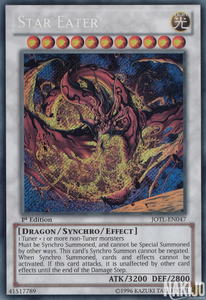 Star Eater - JOTL-EN047 - Secret Rare - 1st Edition