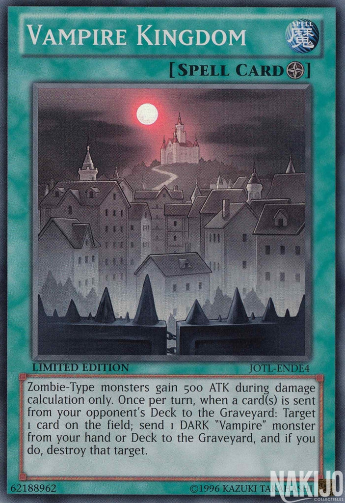 Vampire Kingdom - JOTL-ENDE4 - Super Rare - Limited Edition