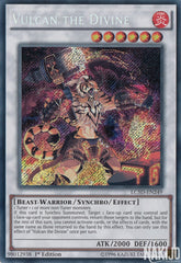 Vulcan the Divine - LC5D-EN249 - Secret Rare - 1st Edition
