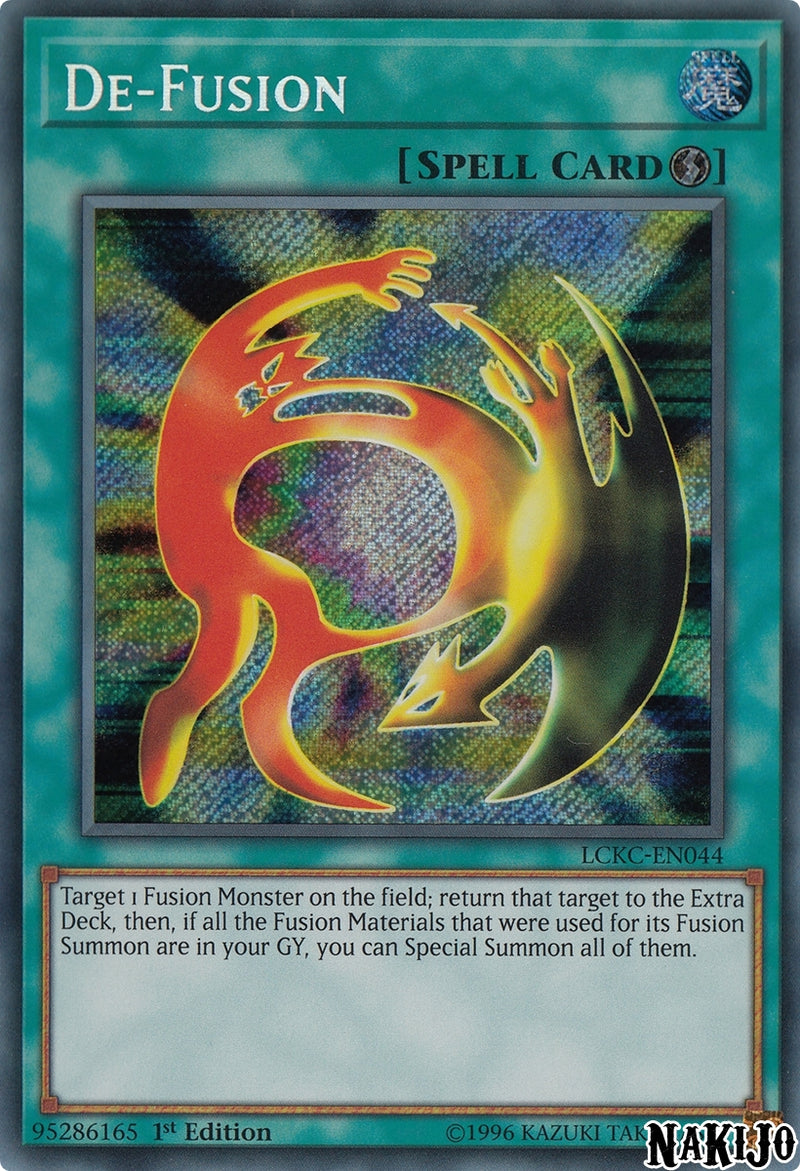 De-Fusion - LCKC-EN044 - Secret Rare - 1st Edition