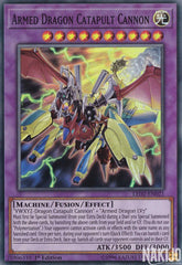 Armed Dragon Catapult Cannon - LED2-EN021 - Super Rare - 1st Edition