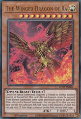 The Winged Dragon of Ra - LED7-EN000 - Ultra Rare - 1st Edition - Alternate artwork