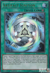 Artifact Ignition - MP15-EN034 - Ultra Rare - 1st Edition