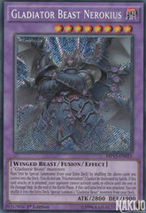 Gladiator Beast Nerokius - MP15-EN051 - Secret Rare - 1st Edition