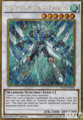 Stardust Charge Warrior - PGL3-EN005 - Gold Secret Rare - 1st Edition