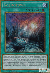 Kozmotown - PGL3-EN032 - Gold Secret Rare - 1st Edition