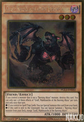 Graff, Malebranche of the Burning Abyss - PGL3-EN044 - Gold Rare - 1st Edition