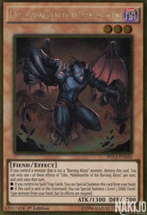 Libic, Malebranche of the Burning Abyss - PGL3-EN050 - Gold Rare - 1st Edition