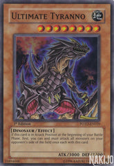 Ultimate Tyranno - POTD-EN020 - Super Rare - 1st Edition