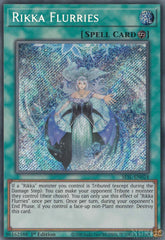 Rikka Flurries - SESL-EN024 - Secret Rare - 1st Edition