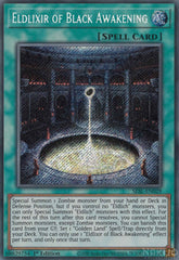Eldlixir of Black Awakening - SESL-EN029 - Secret Rare - 1st Edition