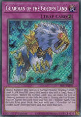 Guardian of the Golden Land - SESL-EN032 - Secret Rare - 1st Edition