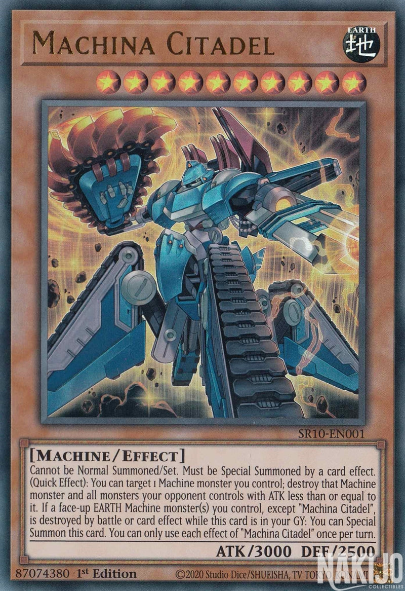 Machina Citadel - SR10-EN001 - Ultra Rare - 1st Edition