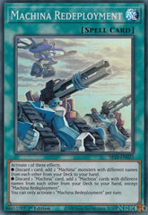 Machina Redeployment - SR10-EN023 - Super Rare - 1st Edition