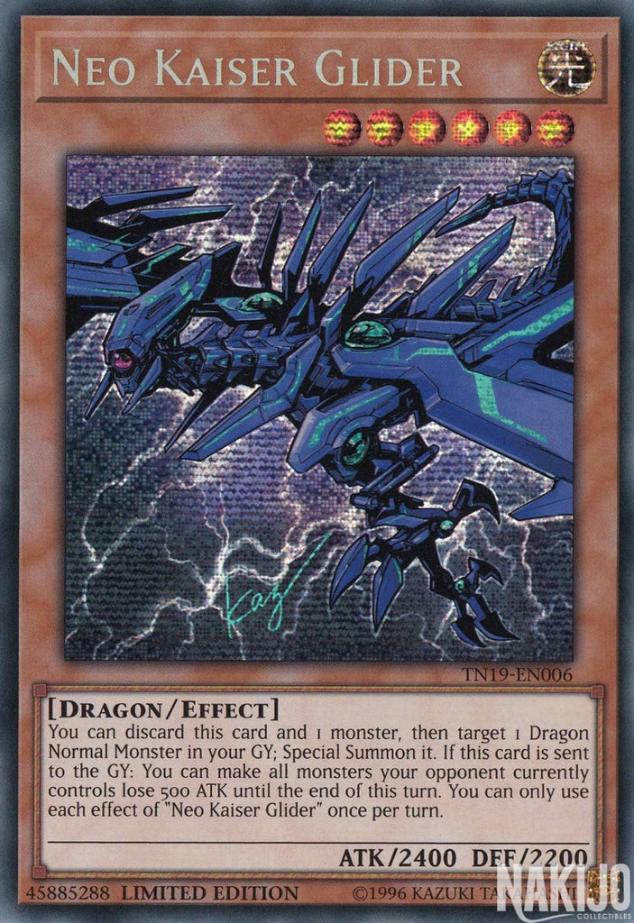 Neo Kaiser Glider - TN19-EN006 - Prismatic Secret Rare - Limited Edition