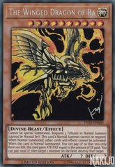 The Winged Dragon of Ra - TN19-EN009 - Prismatic Secret Rare - Limited Edition