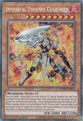 Immortal Phoenix Gearfried - TOCH-EN012 - Collectors Rare - 1st Edition
