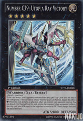 Number C39: Utopia Ray Victory - JOTL-EN048 - Super Rare - 1st Edition