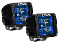 Rigid Radiance 20201 Pod LED Light Pair - Blue Illuminate Background Light - Van Kam Truck & Trailer