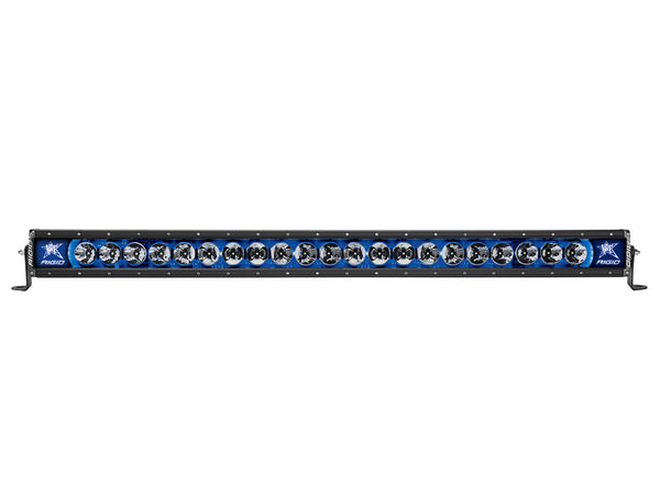 "Rigid Industries Radiance 40"" Light bar 240013 Blue-Black Light - Van Kam Truck & Trailer"