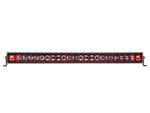 "Rigid Industries Radiance 40"" Light Bar 240023 Red Black Light - Van Kam Truck & Trailer"