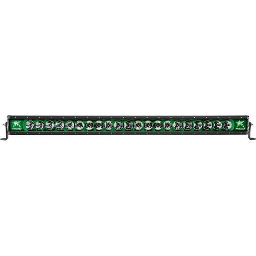 "Rigid Industries Radiance 40"" Light Bar 240033 Green-Black Light - Van Kam Truck & Trailer"
