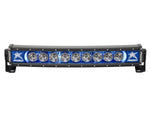 "Rigid Industries Radiance Curved 30"" Light Bar 33001 Blue-Black Light - Van Kam Truck & Trailer"
