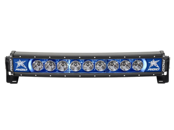 "Rigid Industries Radiance Curved 20"" Light Bar 32001 Blue-Black Light - Van Kam Truck & Trailer"