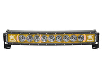 "Rigid Industries Radiance Curved 20"" Light Bar 32004 Amber-Black Light - Van Kam Truck & Trailer"