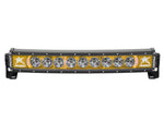"Rigid Industries Radiance Curved 30"" Light bar 33004 Amber-Black Light - Van Kam Truck & Trailer"