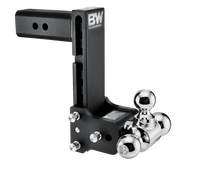 "B&W Tow & Stow , 9"" Adjustable Tri-Ball Ball Mount for 2-1/2"" Receivers"
