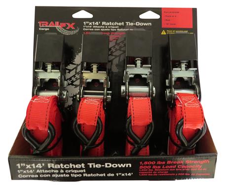Trail FX Ratchet Straps