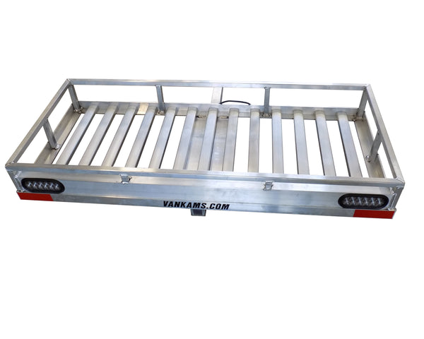 NORTHBOUND ALUMINUM CARGO CARRIER / HAULER, 24 X 60 HEAVY DUTY W/ LED TAIL-LIGHTS & TRAILER PLUG - Van Kam Truck & Trailer