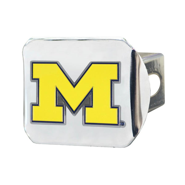 University Of Michigan, NCAA football, Big Ten football, hockey, baseball, basketball, football, trailer hitch cover