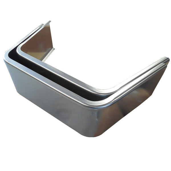 Jeep style aluminum trailer fender