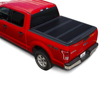 "Load image into Gallery viewer, Leer 631289 HF350M Textured Hard Tri-Fold Tonneau Cover, 14-20 Tundra 5'6"" w/o Track"