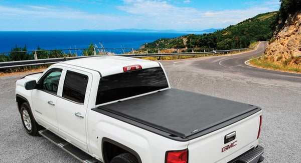 Rolling Truck Bed Covers >> Leer 610112 Sr250 Soft Rolling Tonneau Cover 15 20 Ford F 150 5 6